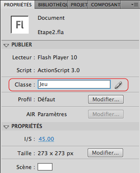 Flash CS4 en français